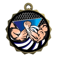 "2-1/4"" Arm Wrestle Medal"