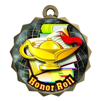 "2-1/4"" Honor Roll Medal"