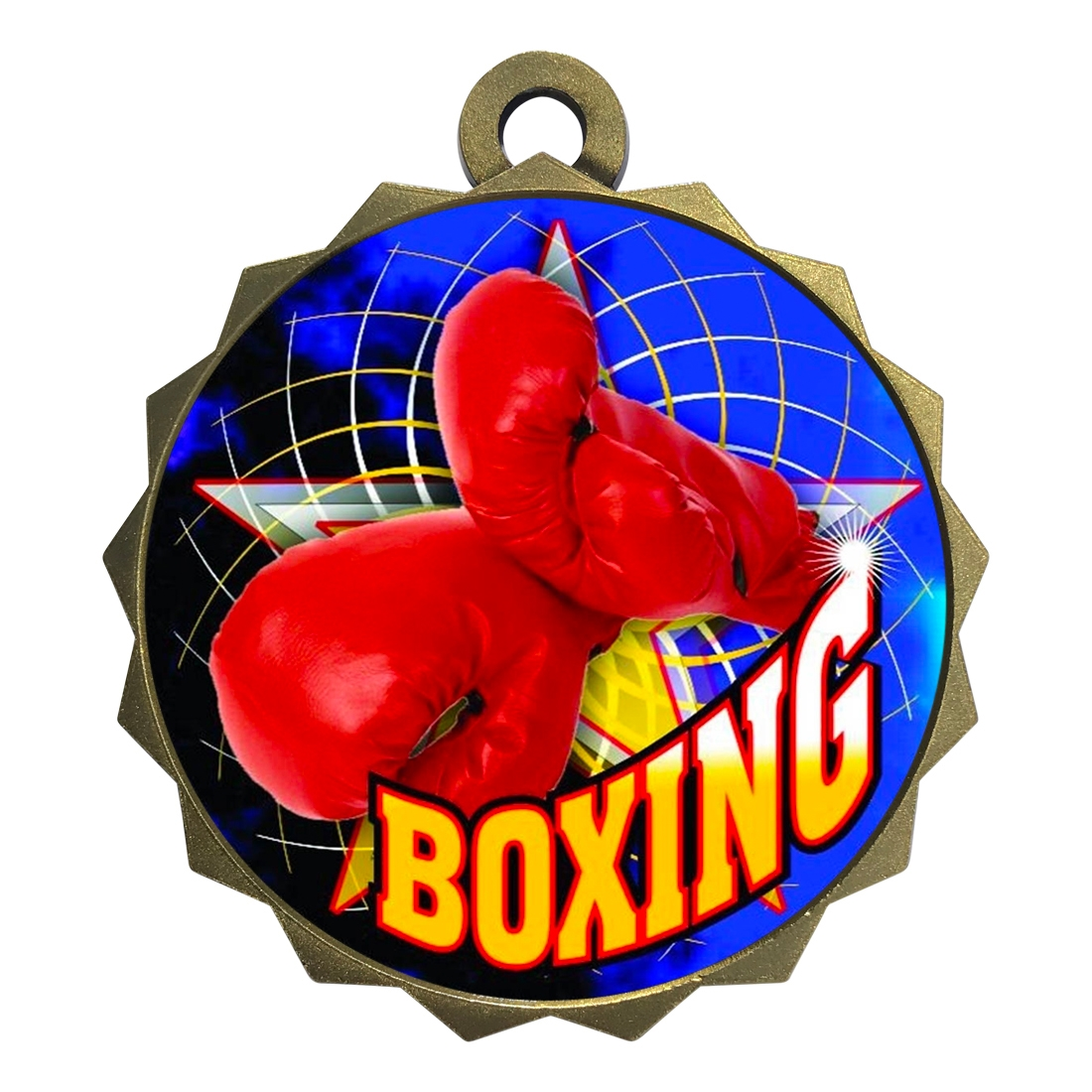 "2-1/4"" Boxing Medal"