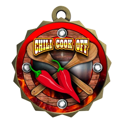 "2-1/4"" Chili Cook Off Medal"