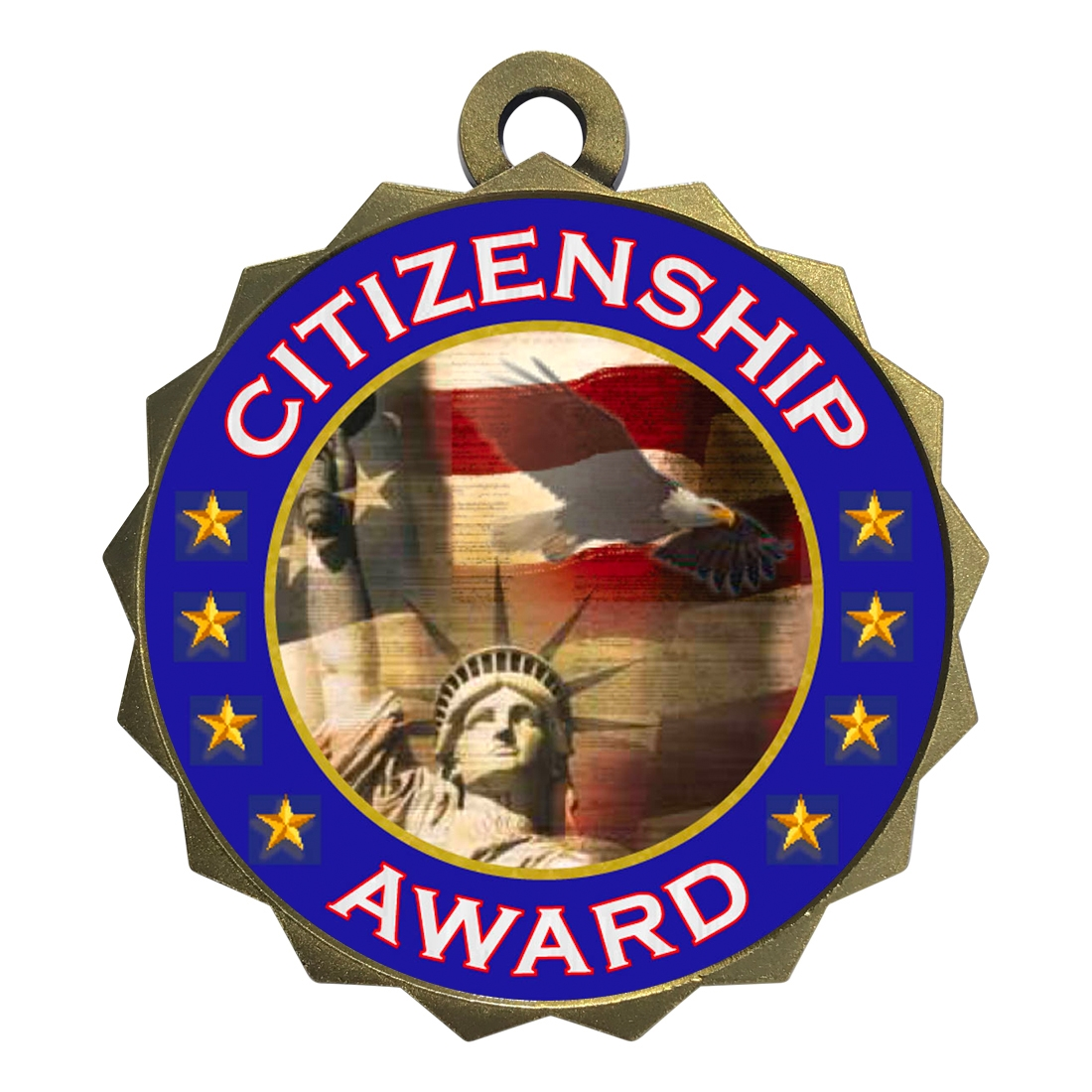 "2-1/4"" Citizenship Medal"