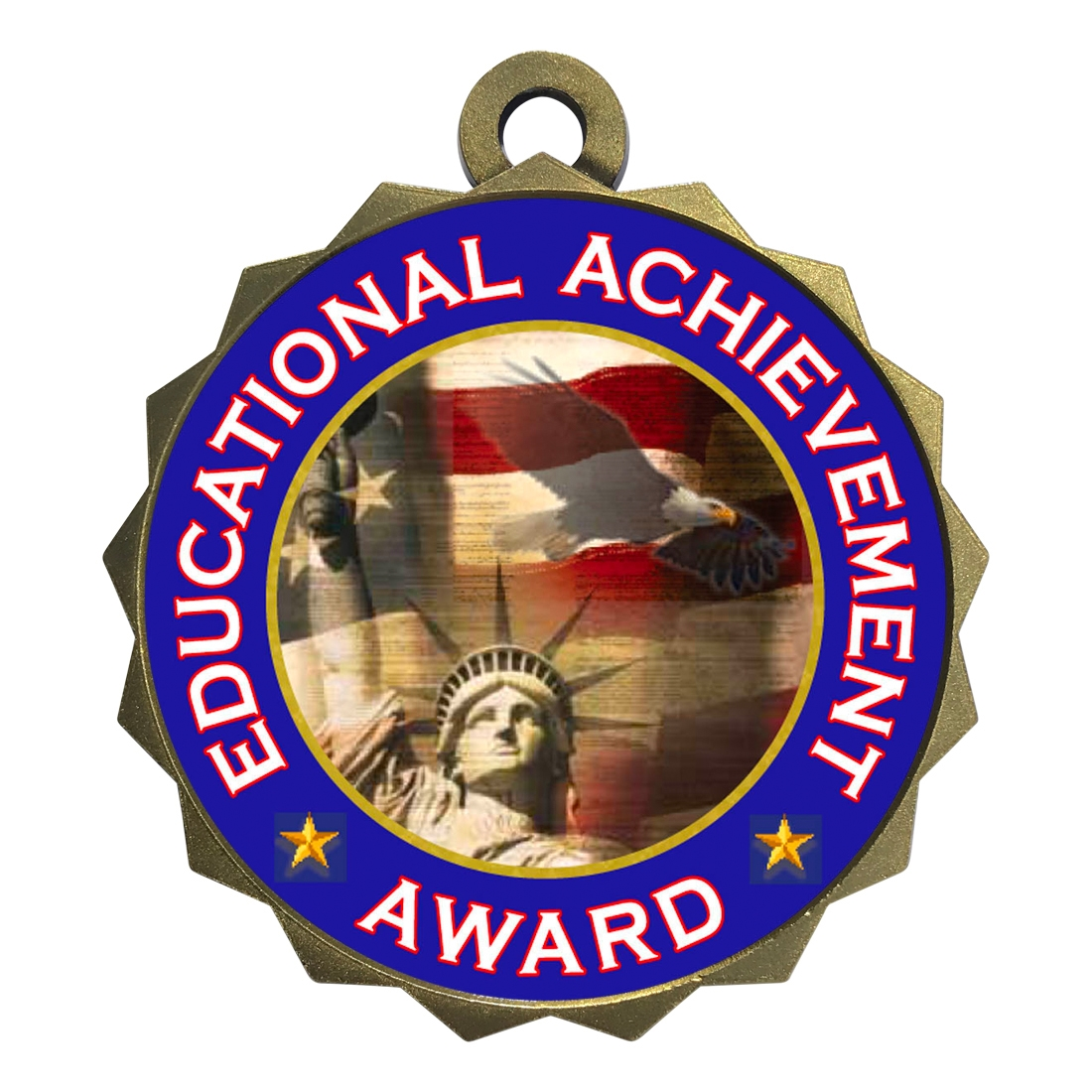 "2-1/4"" Educational Achievement Award Medal"