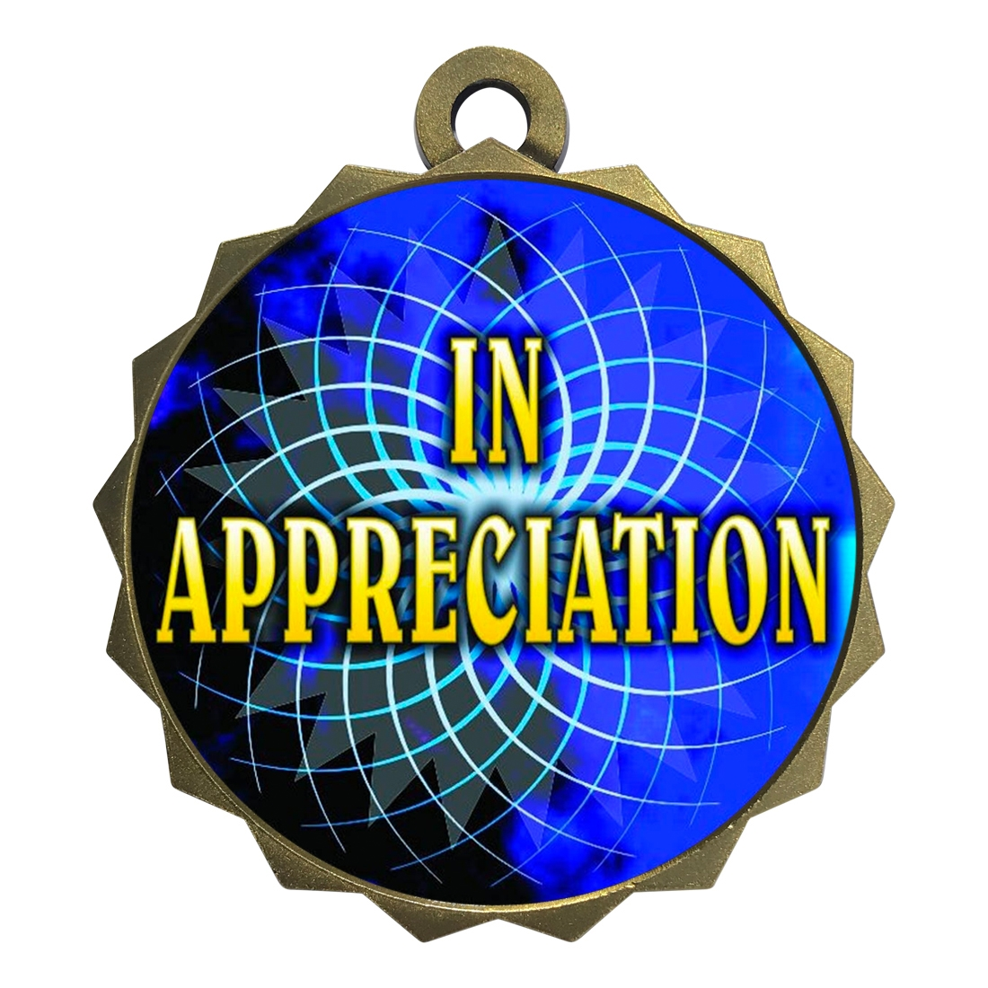 "2-1/4"" In Appreciation Medal"