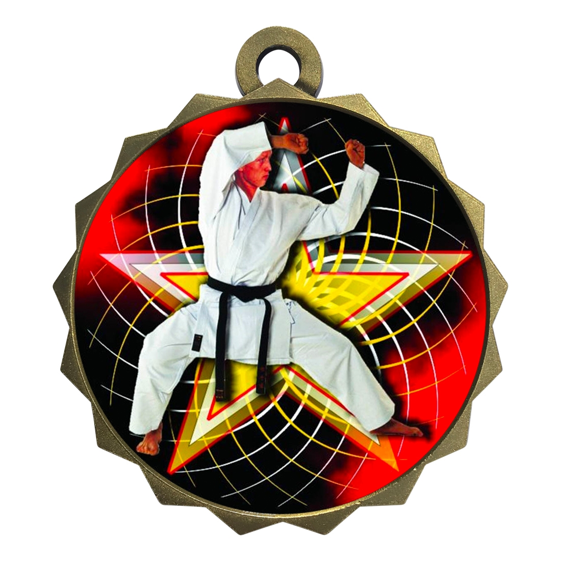 "2-1/4"" Martial Arts Karate Medal"