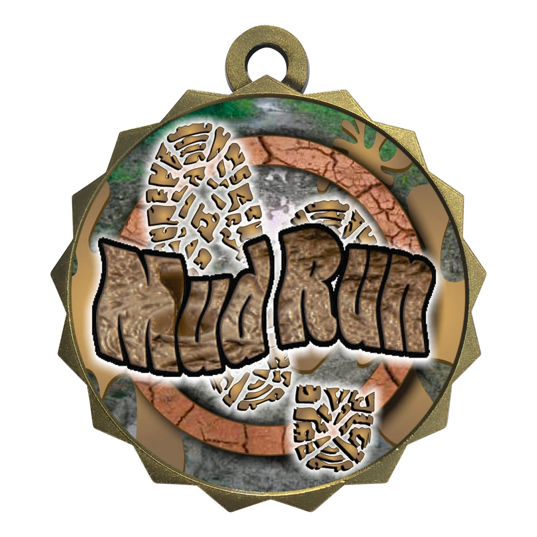 "2-1/4"" Mud Run Medal"