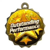 "2-1/4"" Outstanding Performance Medal"