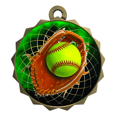 "2-1/4"" Softball Medal"
