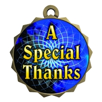 "2-1/4"" Special Thanks Medal"
