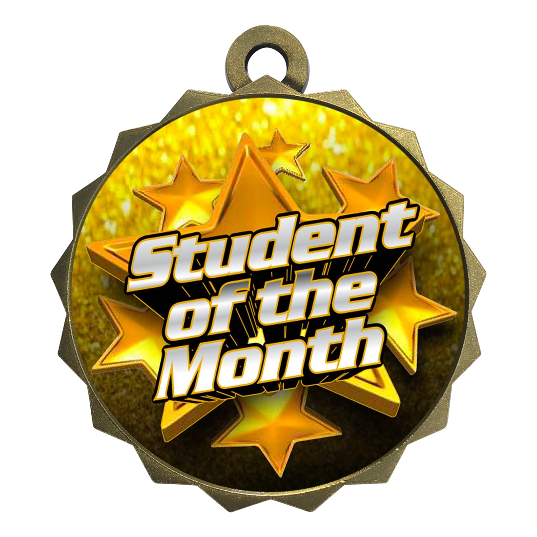 "2-1/4"" Student of the Month Medal"