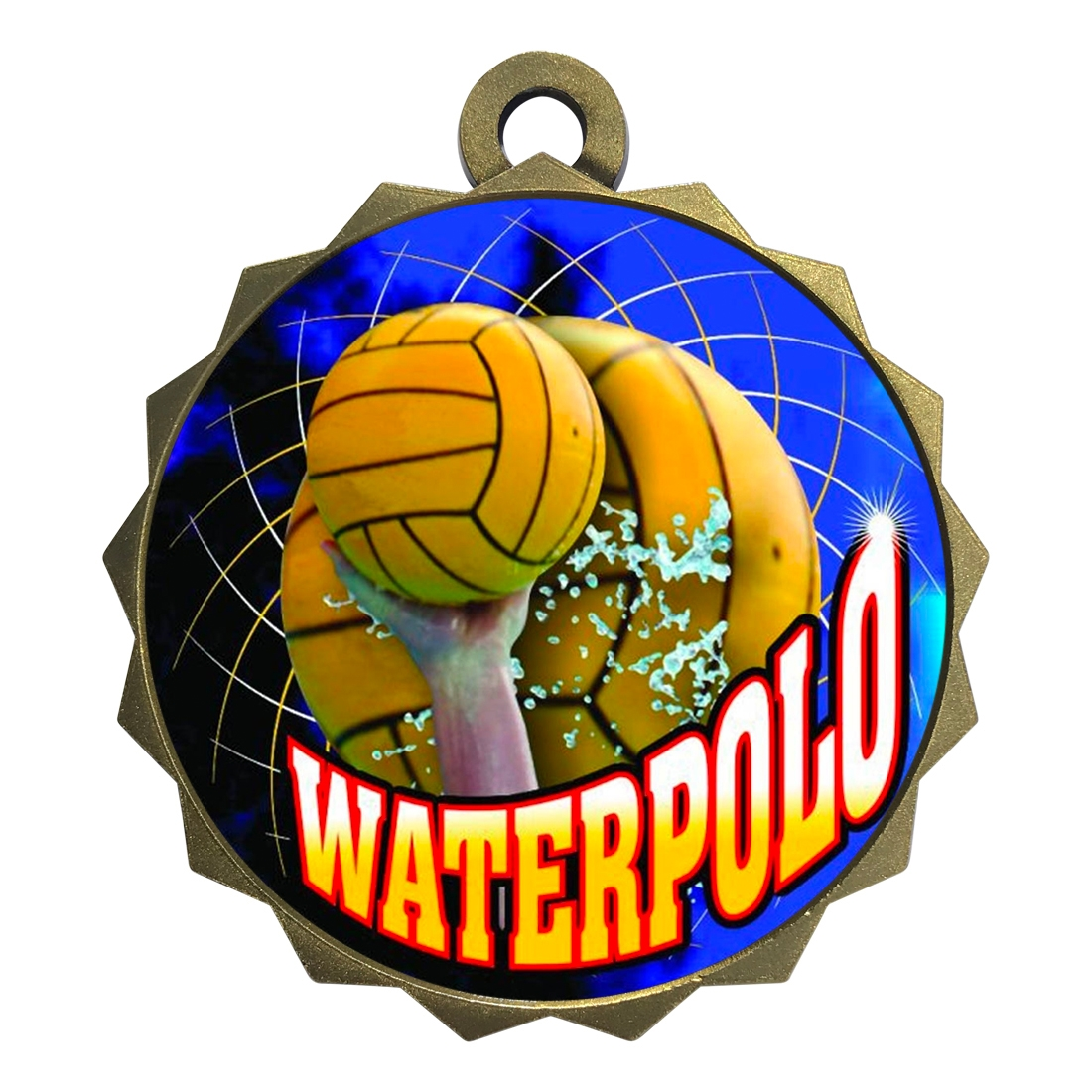 "2-1/4"" Waterpolo Medal"