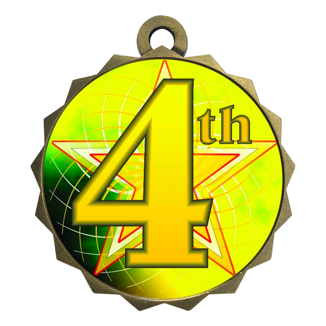 "2-1/4"" 4th Place Medal"