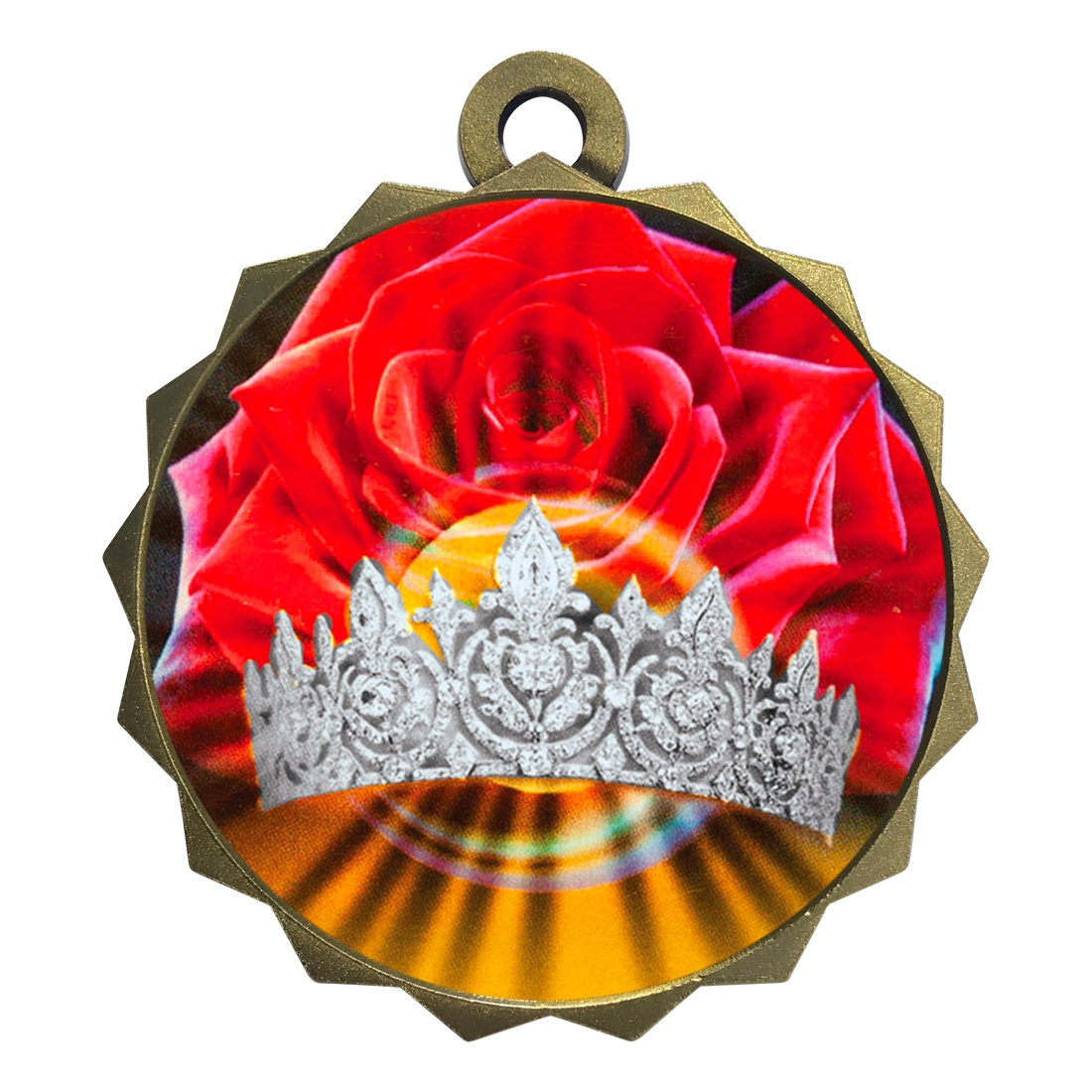 "2-1/4"" Beauty Queen Medal"