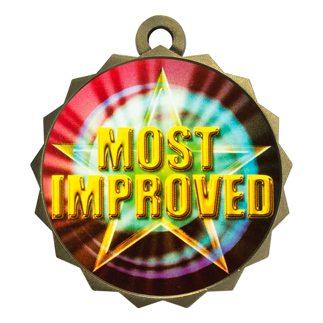 "2-1/4"" Most Improved Medal"