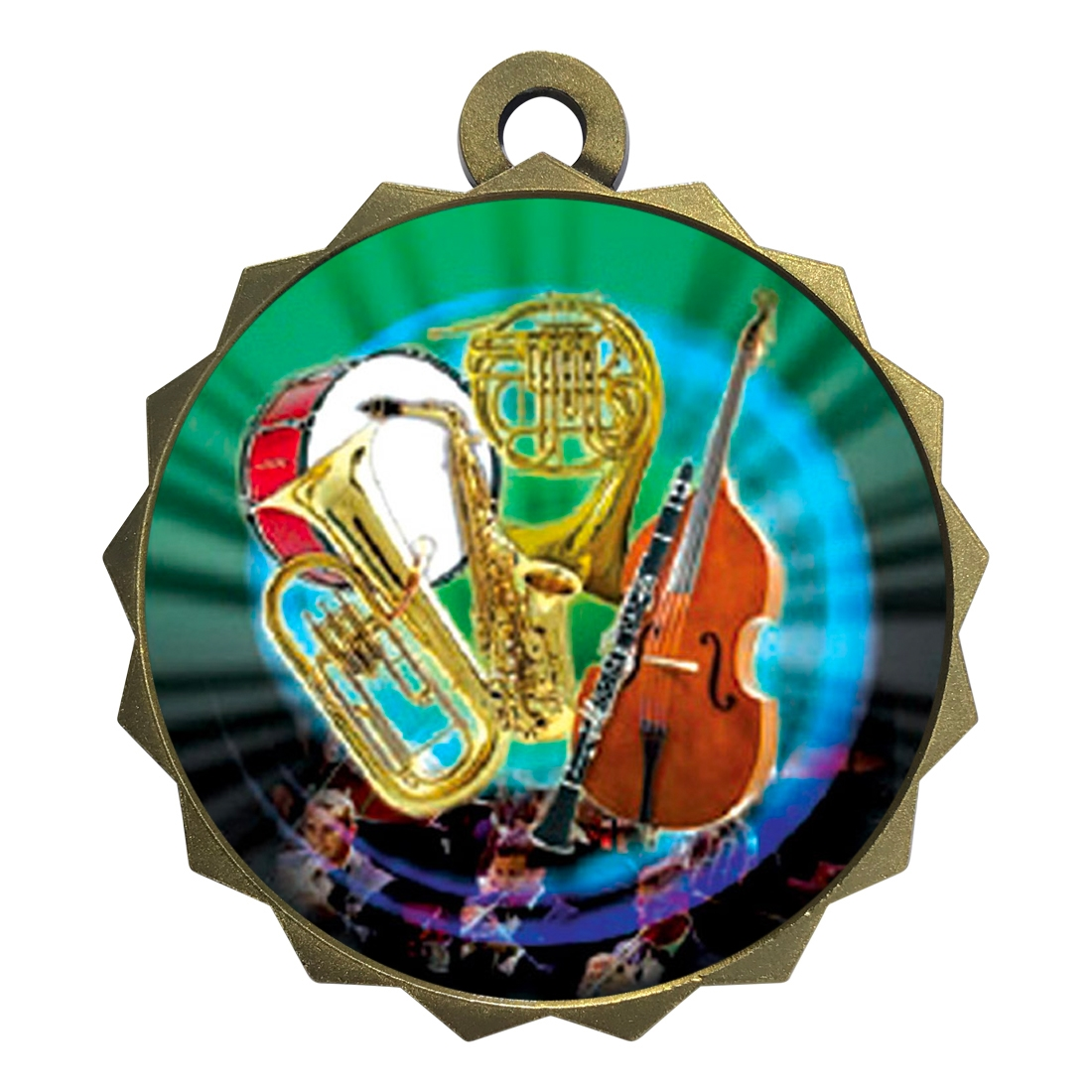 "2-1/4"" Band Orchestra Medal"