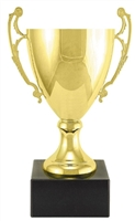 "10"" Gold Metal Trophy Cup"