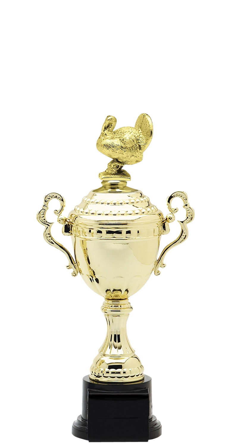 Turkey Trophy Cup on synthetic base in (6 - Sizes)