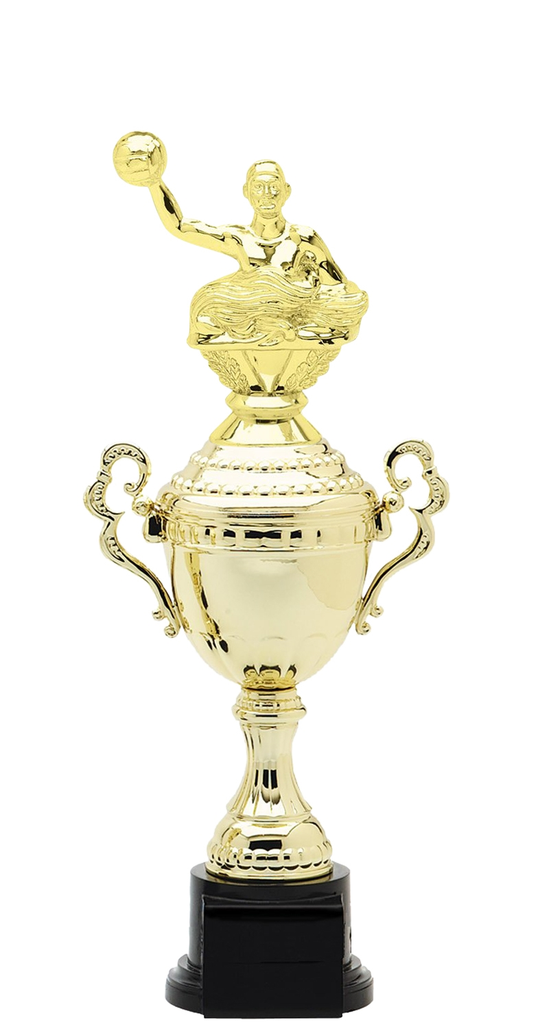 Waterpolo Plastic Verona Trophy Cup on synthetic base in 6 sizes