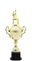 Male Gymnastics Plastic Verona Trophy Cup on synthetic base in 6 sizes