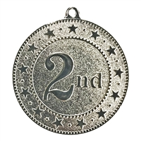 "2"" Express Series 2nd Place Medal DSS02"