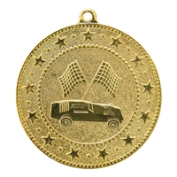 "2"" Express Series Pinewood Derby Medal DSS021"