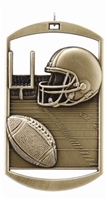 "2-3/4"" DT Series Football Medal DT212"