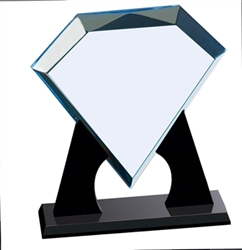 "DT750 Diamond Acrylic Award 8"" x 9"""