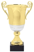 "16"" Gold Metal Trophy Cup"