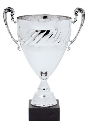 "17"" Silver Full Metal Award Trophy Cup"
