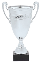 "20"" Silver Full Metal Trophy Cup"