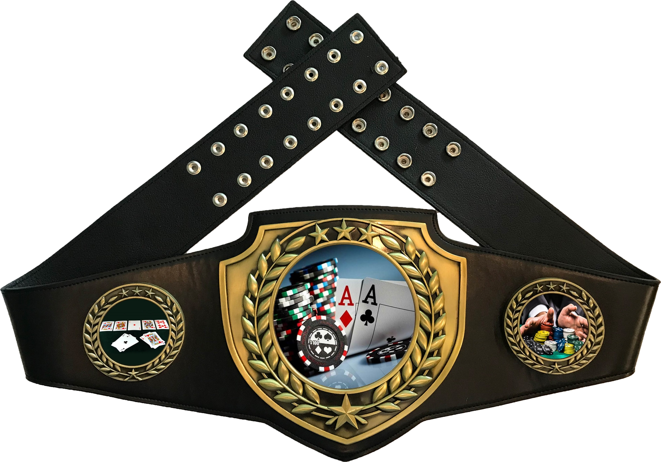 Texas Hold 'em Championship Award Belt EMCABTHE