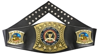 5K Personalized Championship Leather Belt