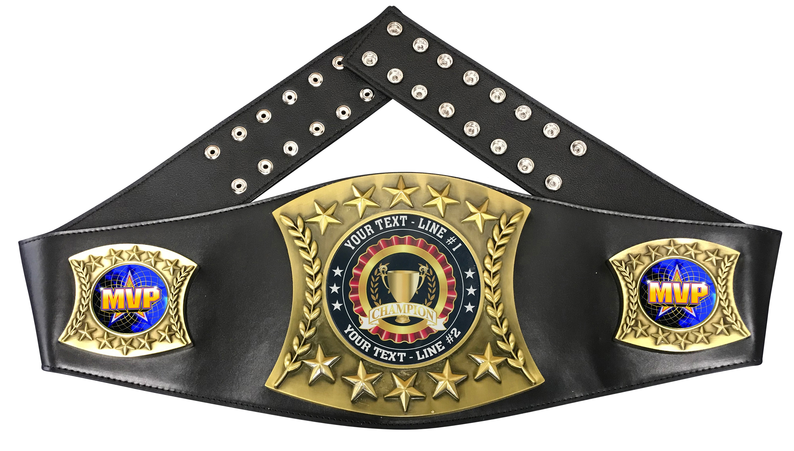 MVP Personalized Championship Belt