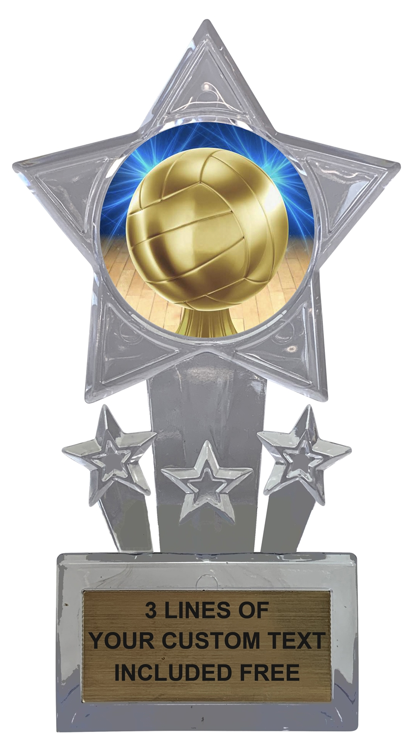 Volleyball Trophy Cup