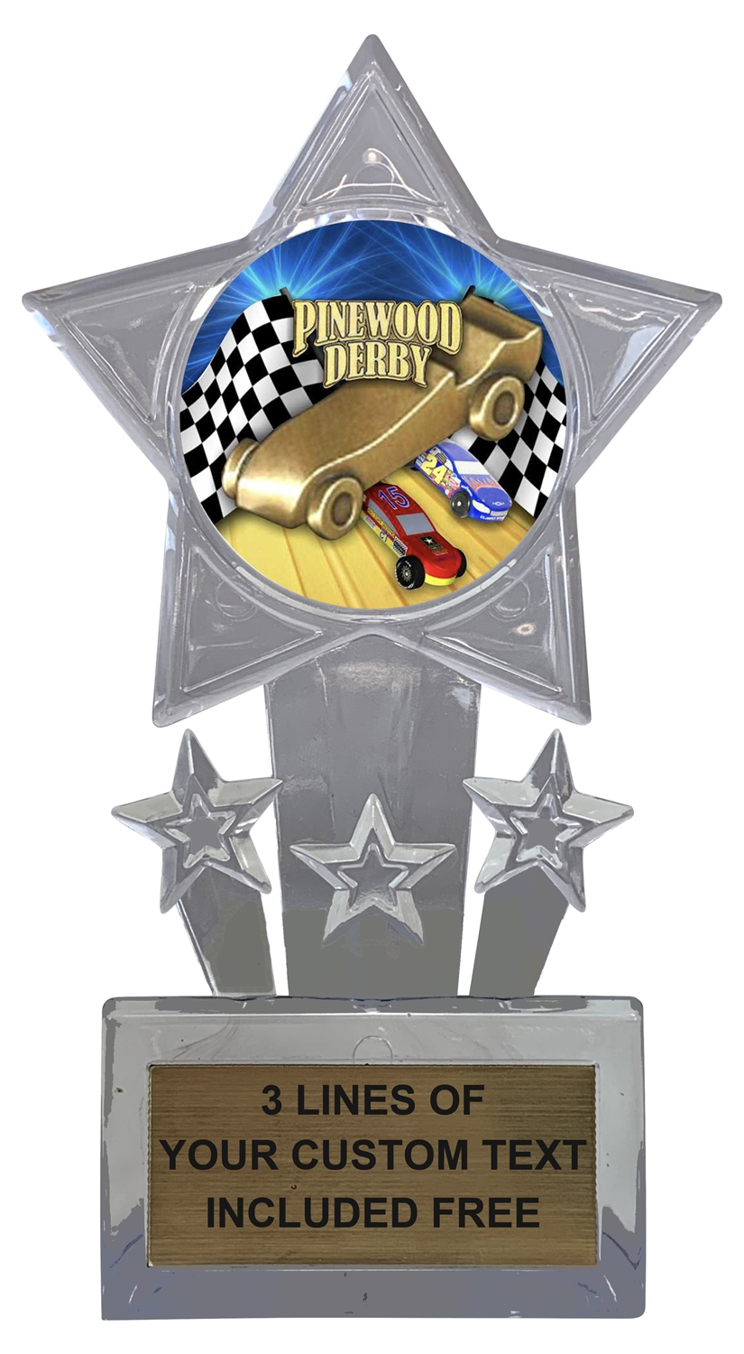 Pinewood Derby Trophy Cup