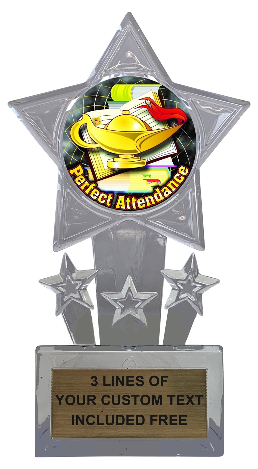 Perfect Attendance Trophy Cup
