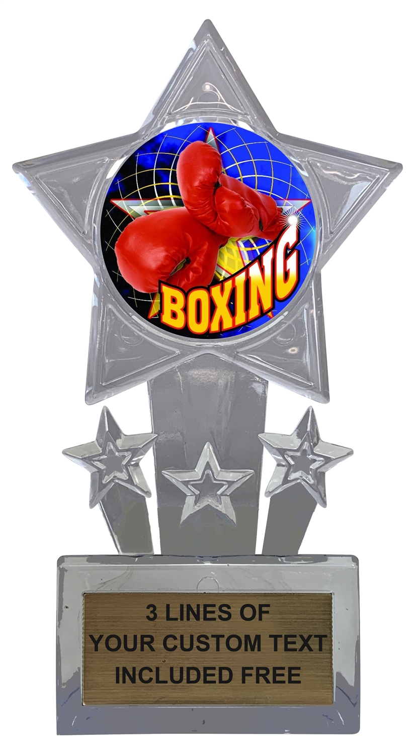 Boxing Trophy Cup