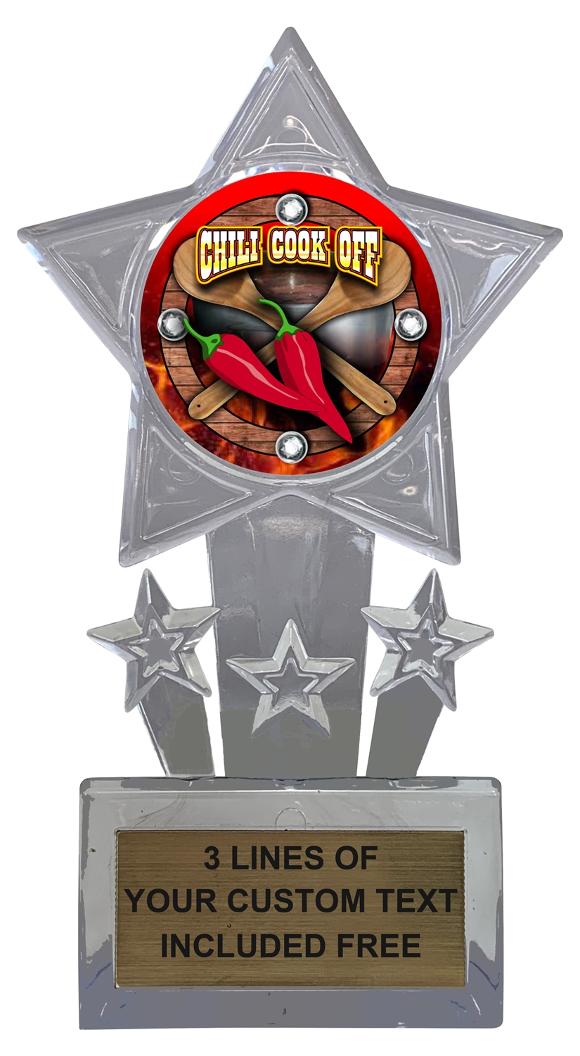 Chili Cook Off Trophy Cup