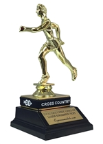 Male Cross Country Trophy with Wrist Band