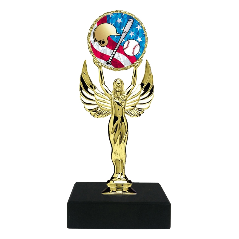 USA Baseball w/helmet Trophy