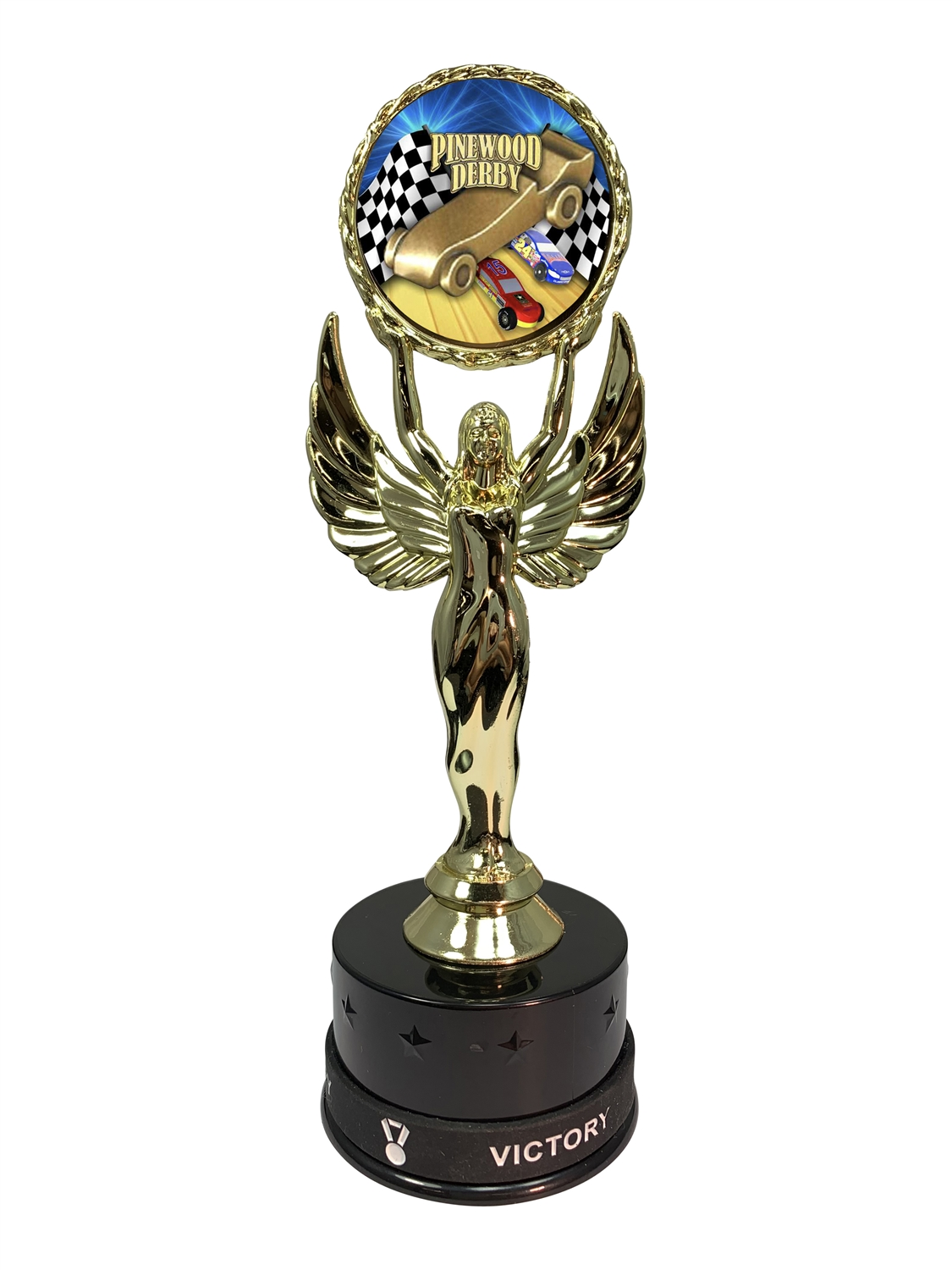 Pinewood Derby Victory Wristband Trophy