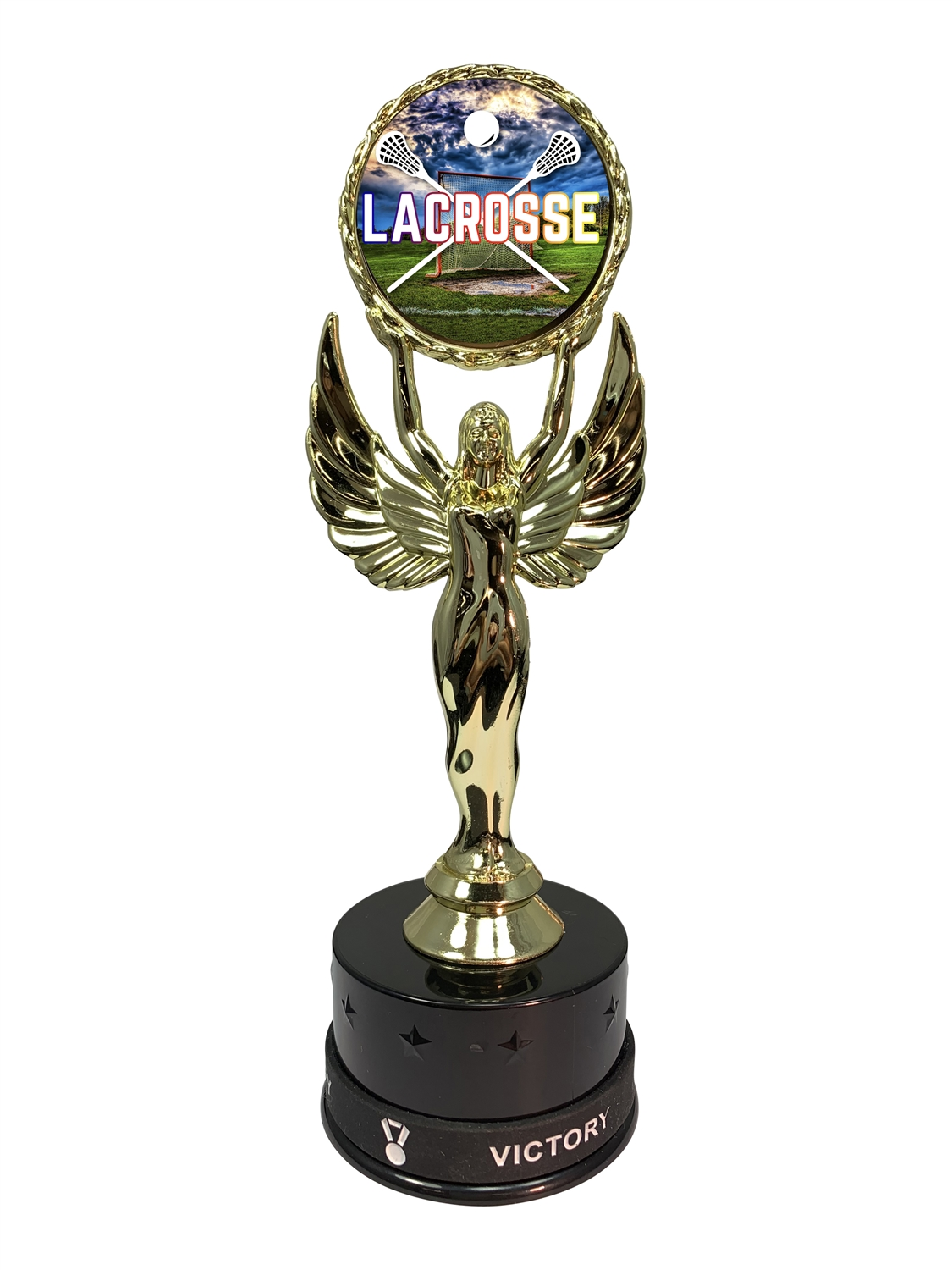 Lacrosse Victory Wristband Trophy
