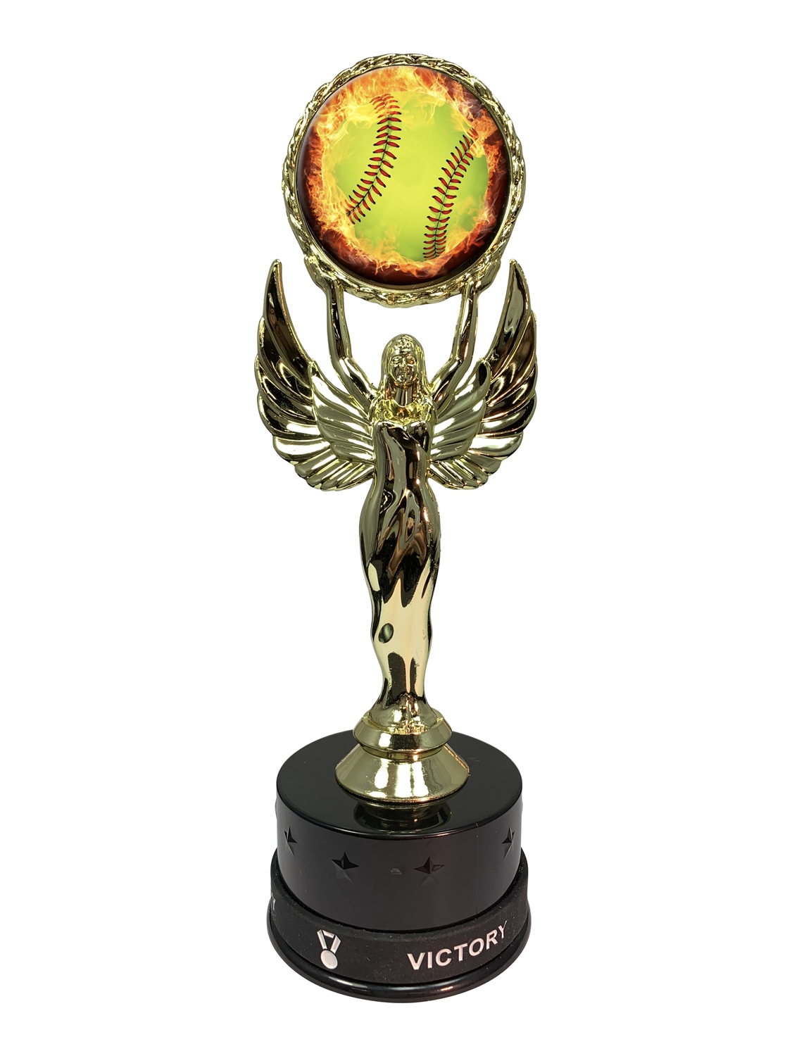 Softball Victory Wristband Trophy