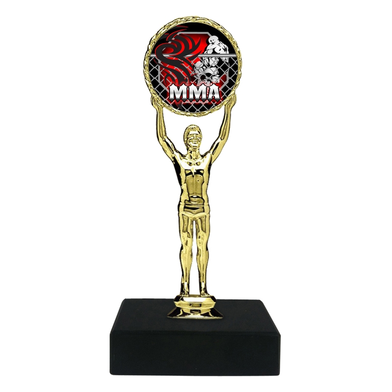 MMA Mixed Martial Arts Trophy