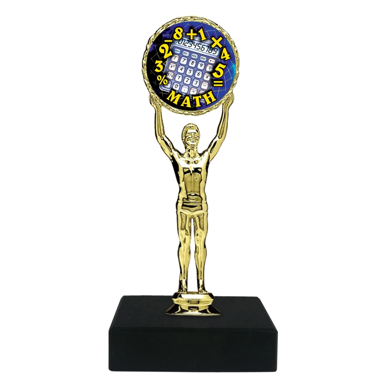 STAR INSERT CUB SCOUT   BLACK MARBLE PINEWOOD DERBY TROPHY