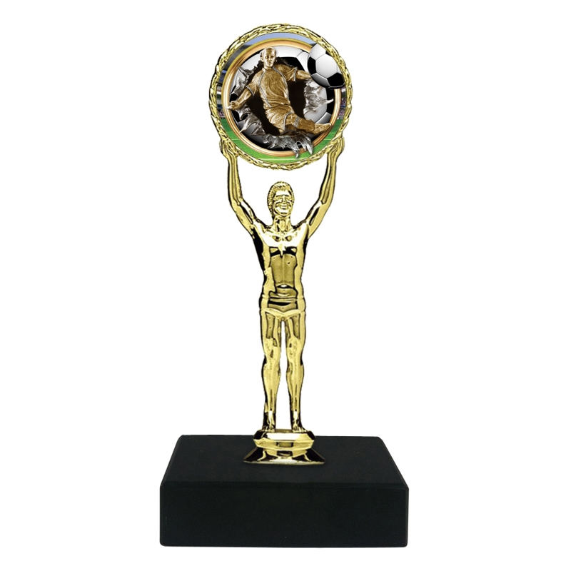 Burst Male Soccer Trophy