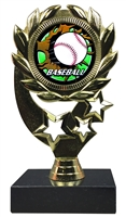 "6-1/4"" Blast Baseball Sport Wreath Trophy"