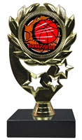 "6-1/4"" Blast Basketball Sport Wreath Trophy"