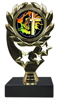 "6-1/4"" Blast Religion Sport Wreath Trophy"