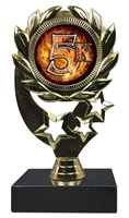 "6-1/4"" Blast 5K Sport Wreath Trophy"