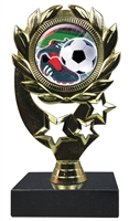 "6-1/4"" FCL Soccer Cleat Insert Sport Wreath Trophy"